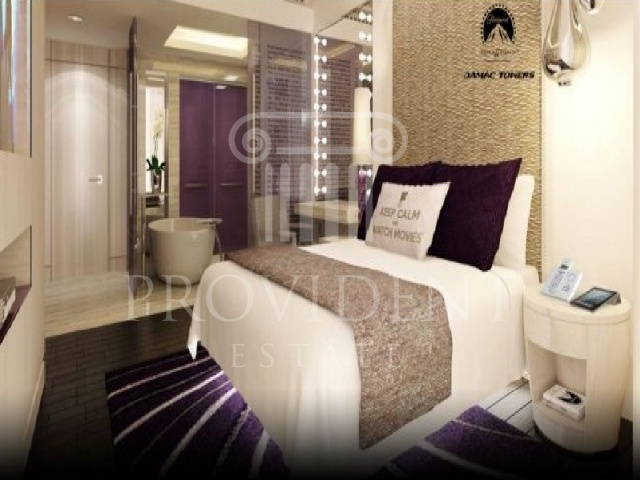 Bedroom - DAMAC Towers_Business Bay