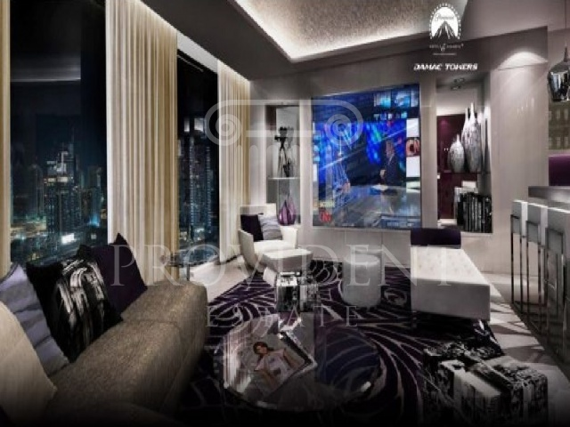 Living Area - DAMAC Towers_Business Bay