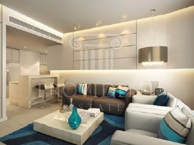 Living Area - The Vogue, Business Bay