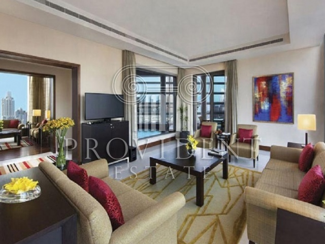 Oberoi Hotel, Business Bay - Luxury Suite