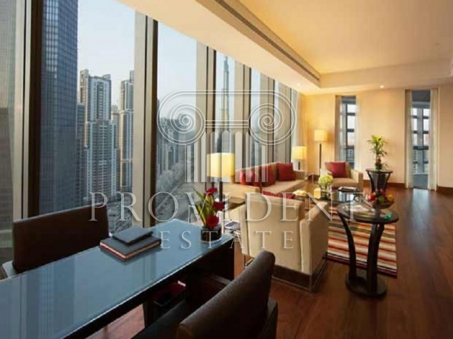 Oberoi Hotel, Business Bay - Presidential Suite