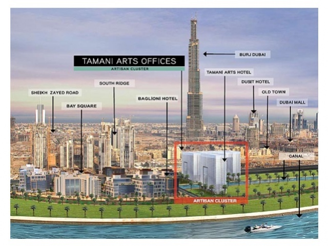 Tamani Art Tower, Business Bay